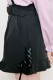 【MA*RS】スピンドルハートバックルショートパンツ - ブラック size-F