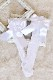 【Princess Melody】♪ハートレースおりぼんソックス♪ - ホワイト size-F