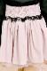 【Princess Melody】♪チュール重ねボリュームスカート♪ - ピンク size-F