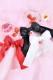 【Princess Melody】♪いちごおりぼんクリップ♪ - ブラック size-F