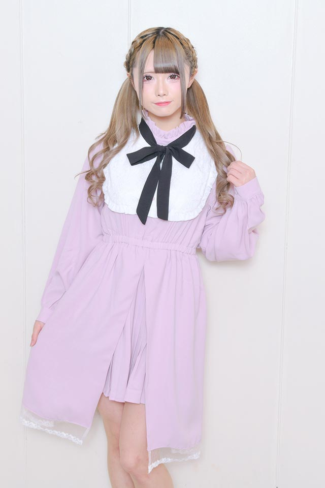 ☆36%OFF☆【MA*RS】ヨーク切替プリーツワンピ - ピンク size-F