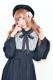☆36%OFF☆【MA*RS】ヨーク切替プリーツワンピ - ブラック size-F