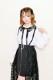 【MA*RS】レース衿キャンディースリーブブラウス  - ホワイト size-F
