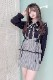 【MA*RS】スピンドルペプラムスカート - グレー size-F