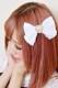 【Princess Melody】♪パールハートレースプリティクリップ♪ - ホワイト size-F