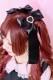 【Princess Melody】♪パールハートリングおりぼんクリップ♪ - ブラック size-F