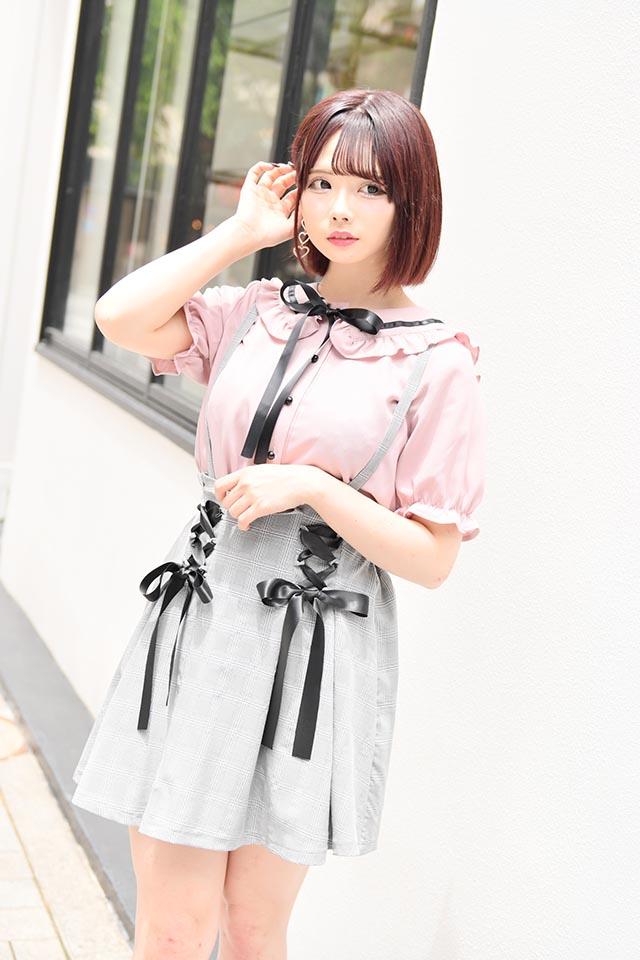 【MA*RS】バックリボンセーラーブラウス - ピンク size-F
