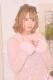 ☆15%OFF☆【MA*RS】レースアップリボン袖ファーニットワンピ - ピンク size-F