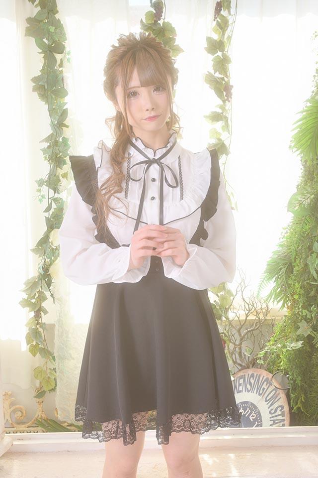 【MA*RS】ヨークフリルブラウス - ホワイト size-F
