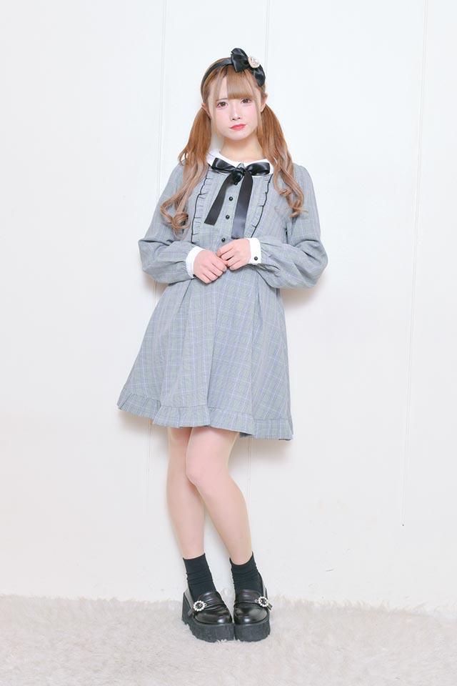 ☆21%OFF☆【MA*RS】SETUP風ワンピース - BLK/ホワイト size-F