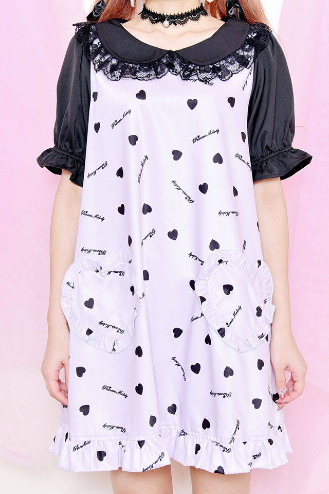 【Princess Melody】♪プリメロハートワンピース♪ - ピンク size-F