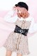 【Princess Melody】♪BIGおりぼんコルセットベルト♪ - ストーン size-F