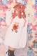 【Princess Melody】♪お襟付きLOVEくまちゃんニット♪ - ホワイト size-F