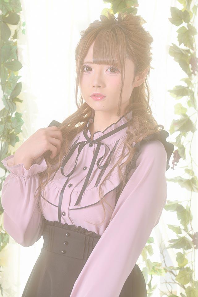 【MA*RS】ヨークフリルブラウス - ピンク size-F