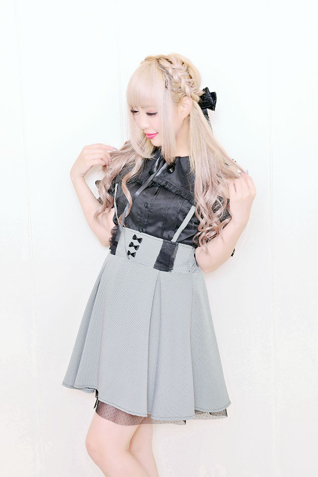 【MA*RS】バックリボンフレアジャンスカ - グレー size-F
