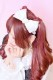 【Princess Melody】♪パールハートリングおりぼんカチューシャ♪ - ホワイト size-F