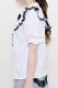 【MA*RS】三角レース襟ブラウス - ホワイト size-F