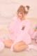 ☆50%OFF☆【Princess Melody】♪ふわもこくまちゃんルームウエア2点SET♪ - ピンク size-F