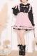 【MA*RS】ドットチュールヨークプルオーバーブラウス - ブラック size-F