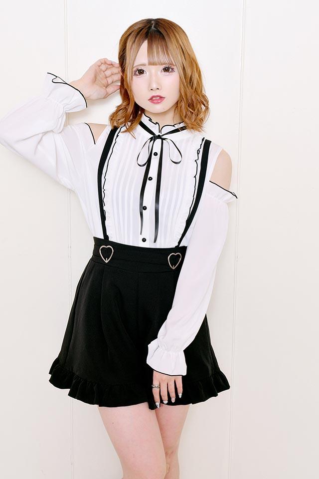 【MA*RS】メロー肩あきブラウス - ホワイト size-F