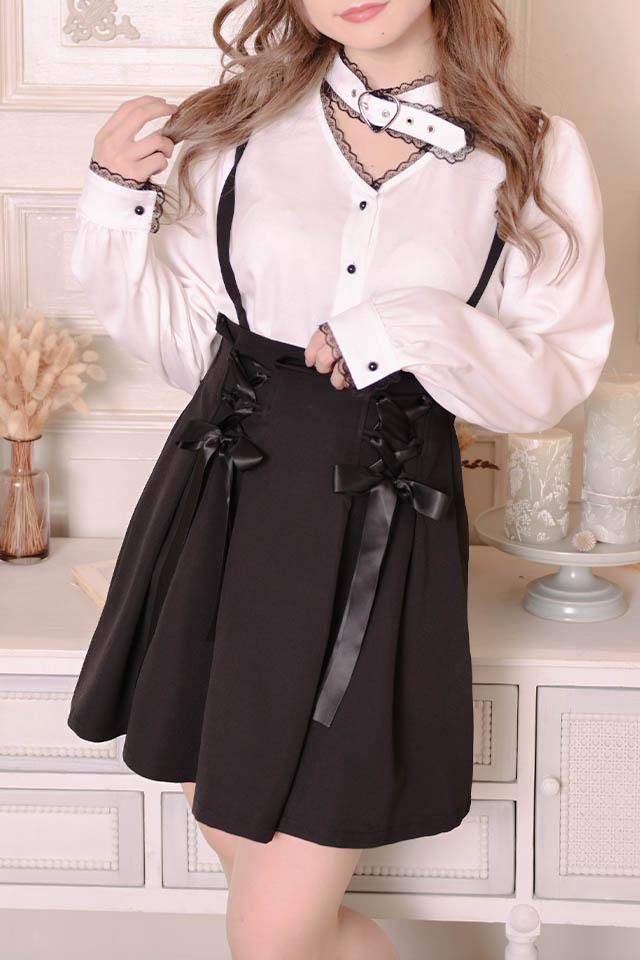 【MA*RS】☆WEB限定☆ダブルリボンスカート - ブラック size-F