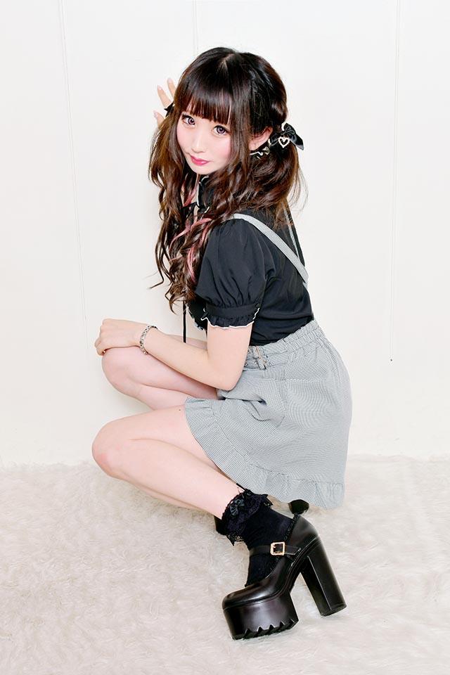 【MA*RS】フリルパンプス - ブラック