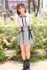 【MA*RS】ダブルリボンスカート - BLK/ホワイト size-F