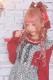 【Princess Melody】♪パールネックフリルTOPS♪ - レッド size-F