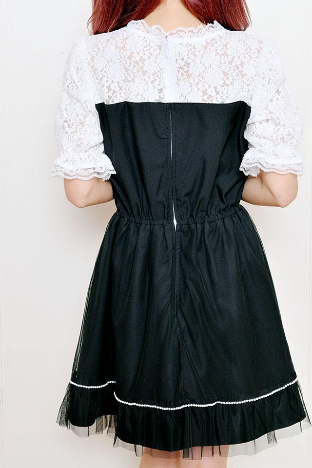 【Princess Melody】♪お姫様ワンピース♪ - ブラック size-F