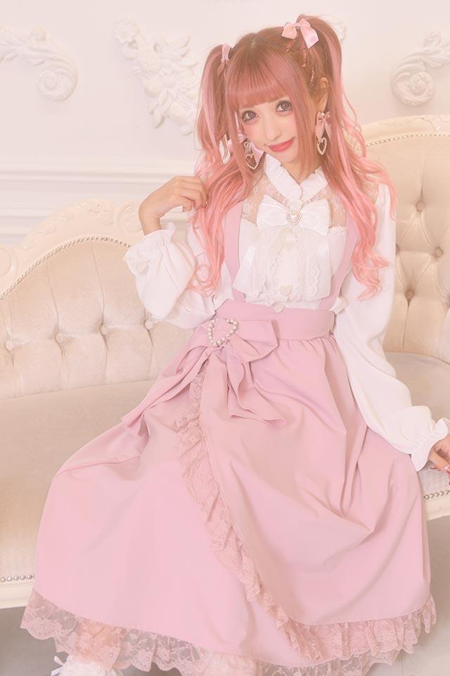 ☆28%OFF☆【Princess Melody】♪レース切替ブラウス♪ - ホワイト size-F