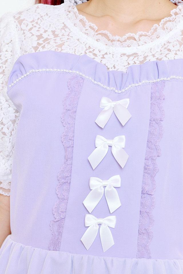 【Princess Melody】♪お姫様ワンピース♪ - ラベンダー size-F