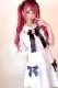 【Princess Melody】♪ドットチュール重ねヨークブラウス♪ - ホワイト size-F