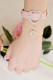 【Princess Melody】♪きらきらダブルハートブレス♪ - ピンク size-F