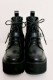 【MA*RS】ビジューバックルブーツ - ブラック