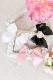 【Princess Melody】♪きらきらハートビジュープリティおりぼんクリップ♪ - ピンク size-F