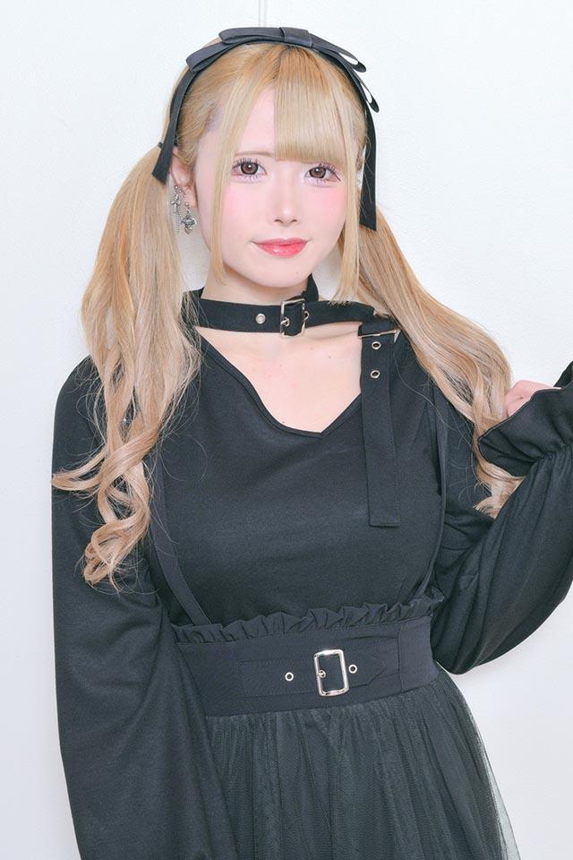 【MA*RS】ダブルバックルTOPS - ブラック size-F