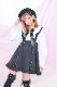 ☆25%OFF☆【Princess Melody】♪ダブルおりぼんテープフレアジャンスカ♪ - ブラック size-F