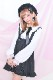 【Princess Melody】♪ダブルおりぼんテープフレアジャンスカ♪ - ブラック size-F