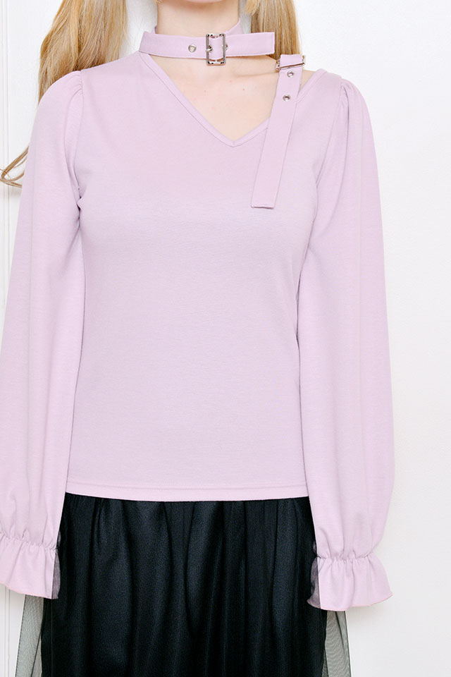 【MA*RS】ダブルバックルTOPS - ピンク size-F