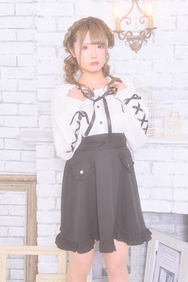 【MA*RS】袖スピンドルブラウス - ホワイト size-F