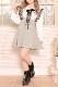【MA*RS】リボンフレアジャンスカ - BLK/ホワイト size-F