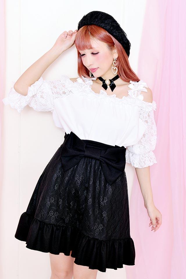 【Princess Melody】♪おりぼんおりぼんキャミ♪ - ホワイト size-F