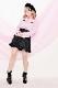 【Princess Melody】♪ハートビジューボタンブラウス♪ - ピンク size-F