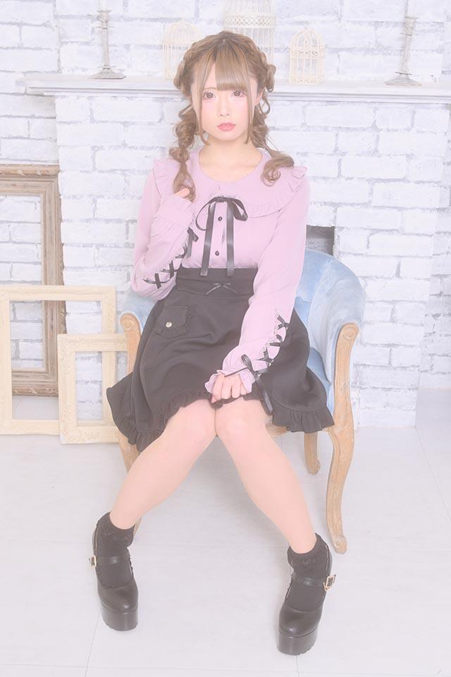 【MA*RS】袖スピンドルブラウス - ピンク size-F