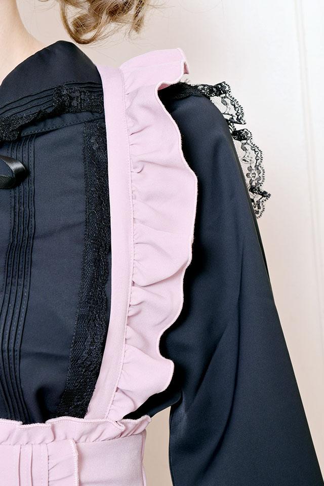 【MA*RS】裾レースジャンスカ - ピンク size-F