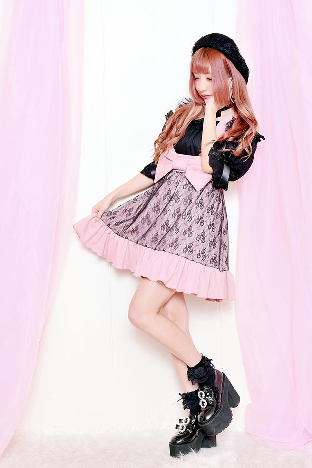 ☆39%OFF☆【Princess Melody】♪おりぼんジャンスカ♪ - ピンク size-F