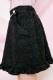 【Princess Melody】♪おりぼん付きツイードスカート♪ - ブラック size-F