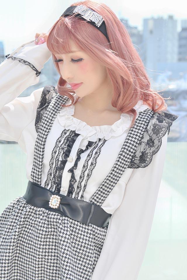 【Princess Melody】♪襟セパレート2WAYブラウス♪ - ホワイト size-F