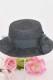 ☆75%OFF☆【MA*RS】ドットチュールカンカン帽 - ブラック size-F