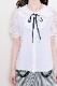 【MA*RS】ラッフルレース袖ブラウス - ホワイト size-F